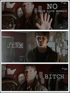 Awful, but Awesome at the same time. :D I love brotherly character dynamics in TV shows. :D