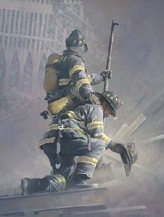 Personally thank a 9/11 fire fighter.