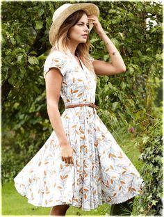 50's Shirt Dress #fairtrade