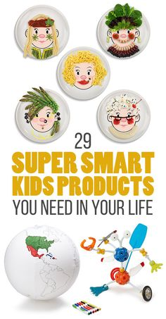 29 Brilliant Kids Products You Need In Your Life via Buzzfeed, featuring UncommonGoods!