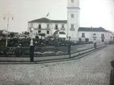 1930s,  Largo Hintze Ribeiro e Câmara Municipal de Ribeira Grande, Ilha de São Miguel.   Aspecto geral da Câmara e Largo Hintze Ribeiro