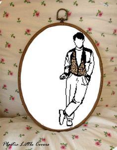 Cross Stitch Pattern - Ferris Bueller. £3.00, via Etsy.