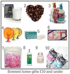 Affordable scented home gift ideas