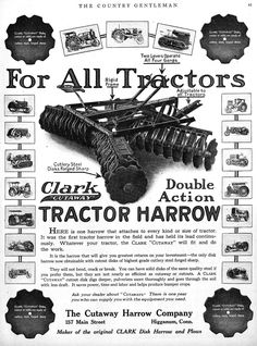 | For All 1919 Tractors