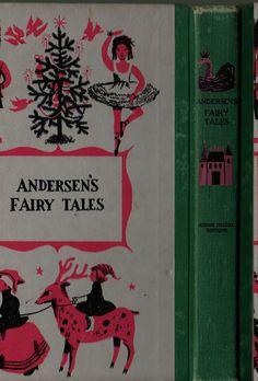 Andersen's Fairy Tales Junior Deluxe Editions - Hans Christian Andersen - Leonard Weisgard - 1956 - Vintage Kids Book