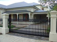 Consideration Rod Iron Fences And Gates