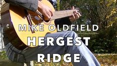 Mike Oldfield - Hergest Ridge (Excerpt) [Fingerstyle Guitar Cover by Ale...