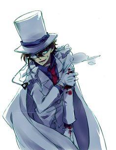 Kaito Kid l Magic Kaito 1412 Magic Kaito, Detective, Detektif Conan, Kaito Kuroba, Kaito Kid, Amuro Tooru, Kudo Shinichi, Case Closed, Childhood Friends