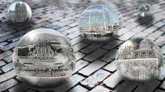 Wallpaper bolas de cristal, fotos de Barcelona