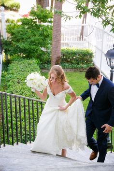 Navy, White + Pink Thomas Bennett House Charleston Wedding // Dana Cubbage Weddings // Charleston SC + Destination Wedding Photographer