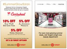 Insider info: how to save 5-20% on all your target beauty purchases
