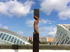 Escultura de Rogério Timóteo