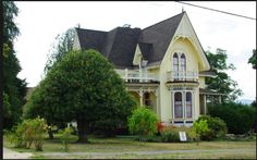 Laughlin house in Yamhill, Oregon