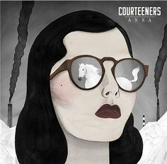 Illustration by Paul X. Johnson The Courteeners - Anna Art And Illustration, Portrait Illustration, The Courteeners, Behold A Pale Horse, Estilo Dark, Kreative Portraits, Marcel Duchamp, Tk Maxx, Electronic Art