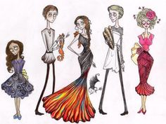 What If Tim Burton Made All Of The Fandoms?