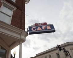 Frost Cafe - from listing for great brunches - Culpeper for trip down