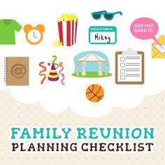 how to plan a class reunion checklist