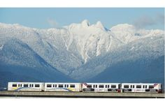 #vancouver #skytrain Vancouver's SkyTrain links the Lower Mainland by rail.