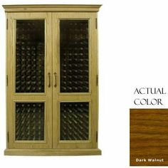 Vinotemp Vino-700english-dkwa English 440 Bottle Wine Cellar - Glass Doors / Dark Walnut Cabinet by Vinotemp. $6049.00. Vinotemp VINO-700ENGLISH-DKWA English 440 Bottle Wine Cellar - Glass Doors / Dark Walnut Cabinet. VINO-700ENGLISH-DKWA. Wine Cellars. Vinotemp Wine Cellars are all-in-one wine storage solutions hand-crafted with domestic woods in Southern California. They maintain an ideal environment for both short-term storage and long-term aging for all ty...