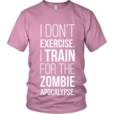 I Don't Exercise