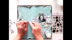 Altenew - scrapbooking layout tutorial from Elena Morgun