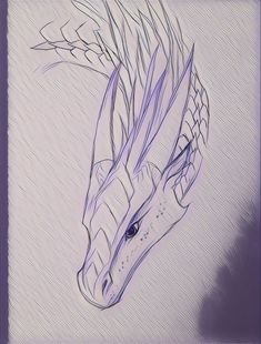 Most up-to-date Pictures dragon drawing sketches Style Is there much real distinction between illustrating and sketching? So that you can response to this conundrum, let's Fantasy Drawings, Cool Drawings, Fantasy Art, Cool Dragon Drawings, Dragon Head Drawing, Pencil Drawings, Fire Drawing, Realistic Drawings, Drawing Faces