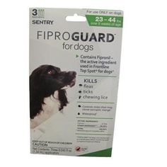 FiproGuard Topical Flea and Tick Treatment for Dogs 23-44Lb ** You can get additional details at the image link. (This is an affiliate link and I receive a commission for the sales)