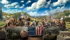 Après quatre teasers diffusés plus tôt dans la semaine, Ubisoft dévoile enfin le premier trailer de Far Cry 5, mais aussi une ribambelle d'infos sur le FPS. La totale sur Far Cry 5 Comme promis, Ubisoft a dévoilé le tout premier trailer du cinquième opus de la saga Far Cry.   #Far Cry #Far Cry 5 #PC #PS4 #Ubisoft #Xbox One