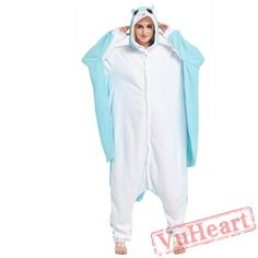 Adult Blue Fly Mouse Onesie Pajamas / Costumes for Women & Men