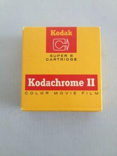 Vintage Kodachrome II Super 8 mm Camera by junkindatrunkgirls, $12.50