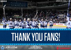 The Toronto Marlies fell in Game 7 to the Texas Stars in the Western Conference Finals and have been eliminated from the Calder Cup playoffs. Thank you to all of our amazing fans for your support this season. Game 7, Special Olympics, Western Conference, Best Fan, Westerns, Toronto, Basketball Court, Hockey Stuff, Finals