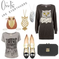 Owls are everywhere!
