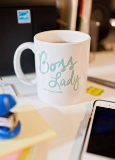 Boss Lady Mug by andimans on Etsy, $20.00