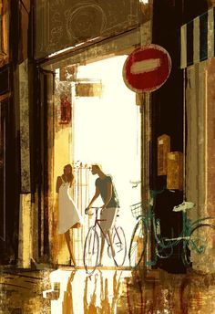 Friday night ride by Pascal Campion - Illustriations by Pascal Campion <3 <3
