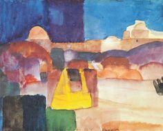 Louis Moilliet: Kairouan 1914
