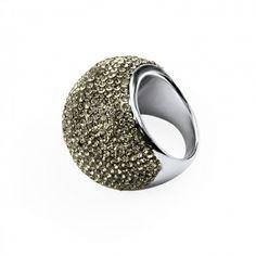 Inel Elegant cu Cristale - Marimea 7 - Bocane Stainless Steel Jewelry, Silver Jewelry, Wedding Rings, Jewels, Engagement Rings, Metal, Enagement Rings, Jewerly, Silver Jewellery