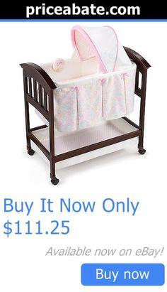 Baby Nursery: Summer Infant Classic Comfort Bedtime Blossom Wood Bassinet BUY IT NOW ONLY: $111.25 #priceabateBabyNursery OR #priceabate