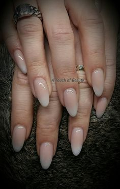 Babyboomer acrylic nails in love with these beauties !!!