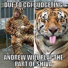 I wonder if we'll see Shiva.