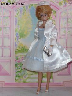 """Barbie """"white magic"""" # 1607 Année 1964"""