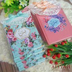 @Aisyah.Souvenir Produsen SOUVENIR PENGAJIAN (Tasbih Buku Yasin Buku Doa Pernikahan Buku Doa Kehamilan Majmu' syarif Oleh2 Ibadah haji Oleh2 ibadah umroh dan perlengkapan pengajian lainnya) Info Pemesanan Hub. WA: 085733439228 / Line : @ago2473y . . . #BukuPengajian #BukuYasin #YasinCantik #SouvenirPengajian #SouvenirIslami #BukuPengajianPernikahan