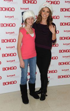 Audrina Patridge Photos Photos - Television Personality and Bongo spokeperson Audrina Patridge  (right) poses with Chase Burch, representing St Jude Children's Reseach Hospital  at Kmart Store In Burbank where she hosted a private shopping spree in aid of St Jude Children's Research Hospital on December 1, 2010 in Burbank, California. - Audrina Patridge Makes A Special Appearance At The Kmart Store In Burbank