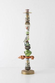 Trinket & Treasure Candlestick #anthropologie