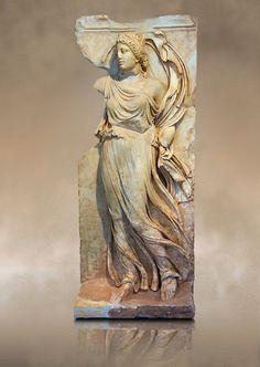 Roman relief sculpture, Aphrodisias, Turkey, from the mauseleum of Julius Zoilus.