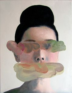 """// """"Listen to me"""". Oil on canvas. 2012 by Andrea Castro"""