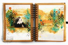 Journal Playgroundart journal by Finnabair
