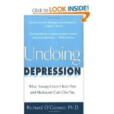 Undoing Depression #depression #books #health and depression #anxiety #