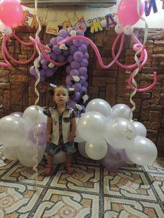 Оформление детских праздников: оформление годика ребенку, детский день р...