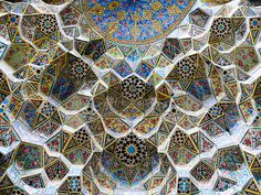 Nasr Ol Molk Mosque at Shiraz, Iran