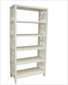 Pulaski Bookcase in White Finish PF-597169